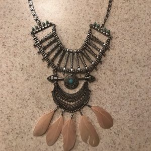 Beautiful tribal necklace.